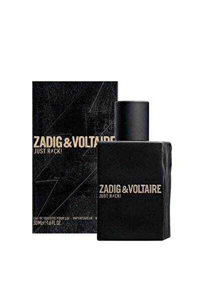 Zadig&Voltaire Just Rock Edt 50 ml Erkek Parfüm 3423474898152