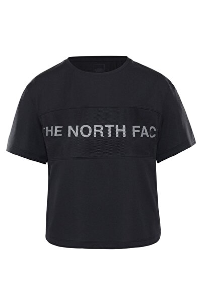 THE NORTH FACE Train N Logo Kadın Tişört Siyah