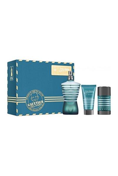 Jean Paul Gaultier Le Male Edt 125 ml Erkek Parfüm + After Shave Lotion 50 ml + Deo Stick 8435415036337