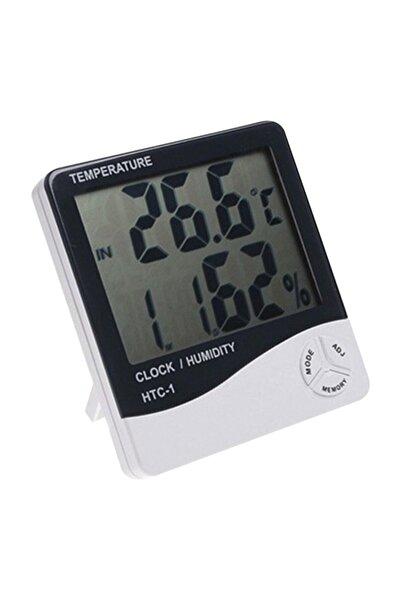 Pi İthalat Masaüstü Dijital Termometre Nem Ölçer Higrometre