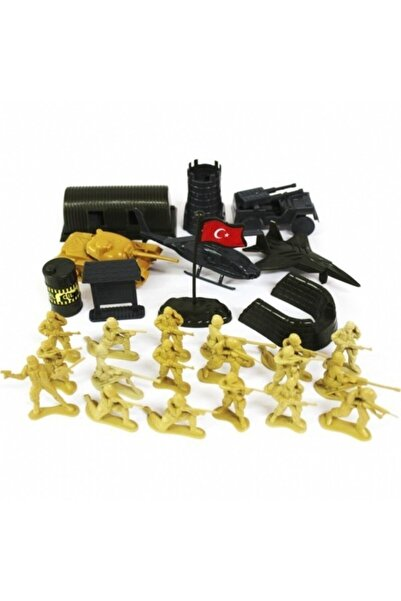 KETTE Oyuncak Asker Seti Çok Parçalı Mini Figürler