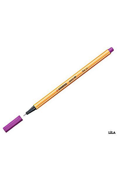 Stabilo Point 88 Ince Uçlu Kalem 0.4 Mm Lila