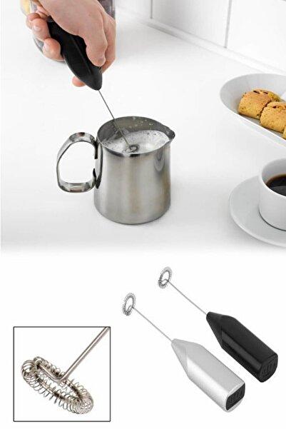 Pratik Şeyler Mini Lüx Pilli Portatif Karıştırıcı El Çırpıcısı Mutfak Mikser