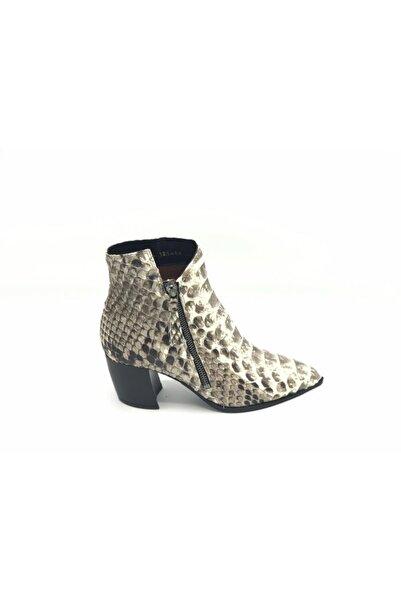 Nursace Pıtton Topuklu Ayakkabı
