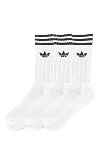 adidas Unisex Çorap - Solıd Crew Sock - S21489