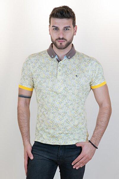 Giovane Gentile Erkek Ekru Polo Yaka T-shirt 318162616120