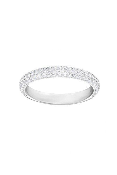 Swarovski Kadın Yüzük Stone:Ring Mn Cry/Rhs 52 5402437
