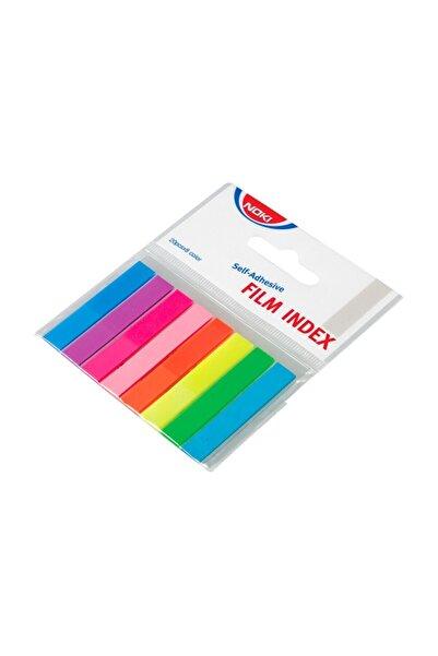Noki Memo 8 Renk Film Index Yapışkanlı Kağıt No:12401