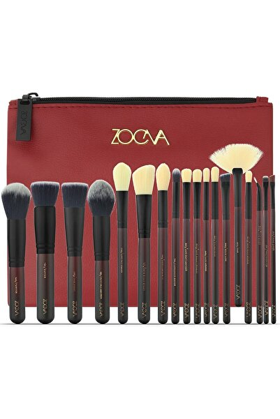 GNX Zoeva 18 Pcs Brush Set & Bag - 18'li Fırça Seti & Çanta