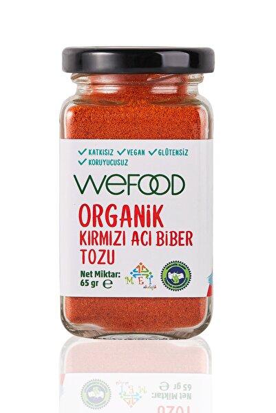 Wefood Organik Kırmızı Acı Biber Tozu 65 gr