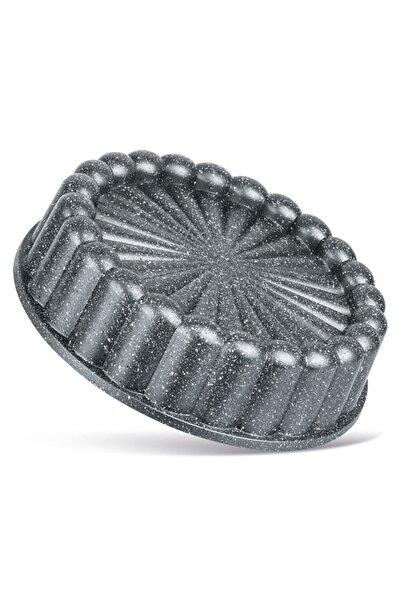 ThermoAD Granit Döküm Tart Kalıbı Turta Kek Kalıbı 26 Cm