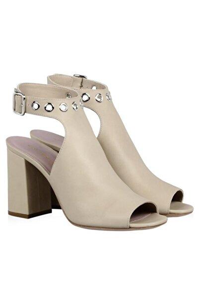 Nursace Hakiki Deri Klasik Topuklu Ayakkabı Nsc18y-a38805