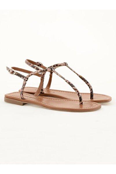 Nursace Hakiki Deri Sandalet Nsc19y-a52902 Lamına