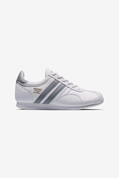 Lescon Unisex Beyaz Campus Sneaker Ayakkabı