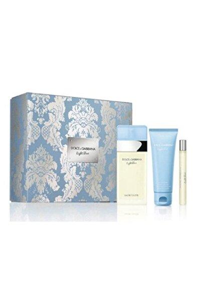 Dolce Gabbana Light Blue Edt 100 ml Kadın Parfüm Seti 3423478776357