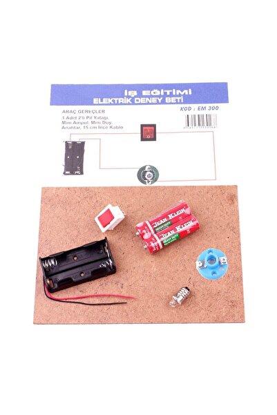 Learning Toys Eğitici Elektrik Deney Seti /