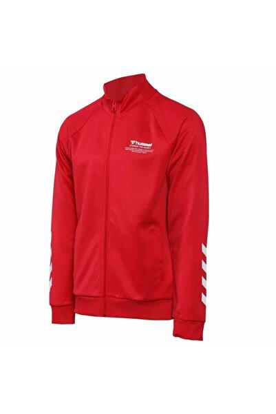 HUMMEL Sweatshırts Falconzo Zıp Jacket - Kırmızı - M