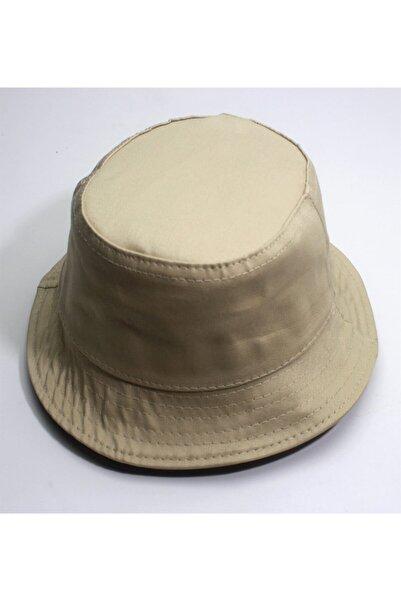 Elif Butik Unisex Bej Balıkçı Kova Şapka