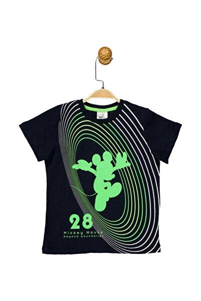 Mickey Mouse Çocuk Siyah Lisanslı Tişört 17284