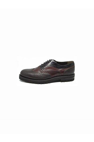 ALBERTO GUARDIANI Erkek Bordo Klasik Ayakkabı