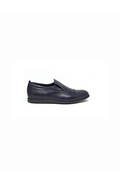 ALBERTO GUARDIANI Erkek Lacivert Klasik Ayakkabı