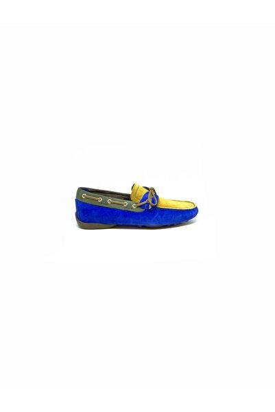 ALBERTO GUARDIANI Erkek Mavi Klasik Ayakkabı