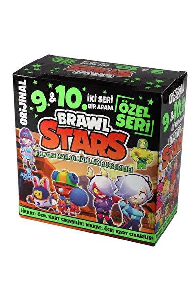 BRAWL STARS 9 Ve 10 Özel Seri Maxi Boy 450'li Oyun Kartı