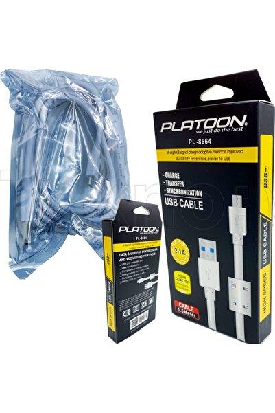 Platoon 2.1a (micro)1.5 Metre Turbo Soğutmalı Şarj Kablosu Pl-8664
