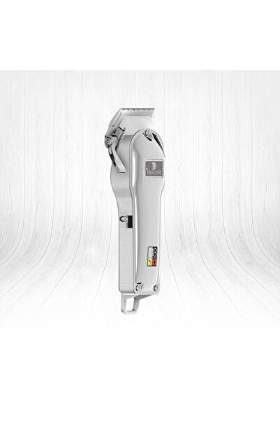 Hector Troy K2 Profesyonel Tıraş Makinası Silver Ekranlı