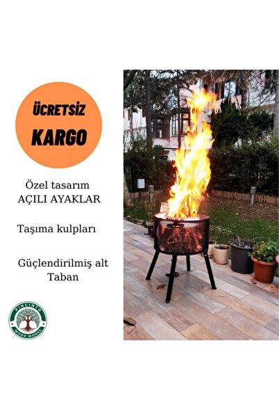 whiteface Ateş Kovası ,bahçe Şöminesi Home-012