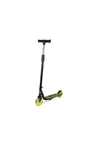 Furkan Yeşil Cool Wheels 2 Tekerli Işıklı Ayarlanabilir Scooter
