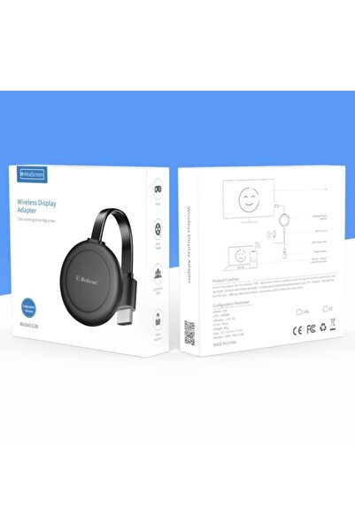 MiraScreen G38 New Model Hdmi Kablosuz Ses Ve Görüntü Aktarıcı