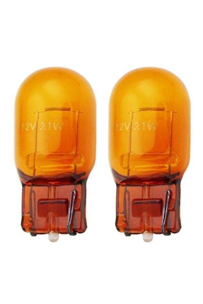 ModaCar T20 Japon Dipsiz Şişman Turuncu Park Ampülü Çift Duylu 424249