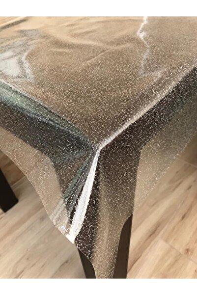 Nurteks Şeffaf Masa Örtüsü Pvc Simli Gümüş Yukselhalımefrusat Ürünüdür