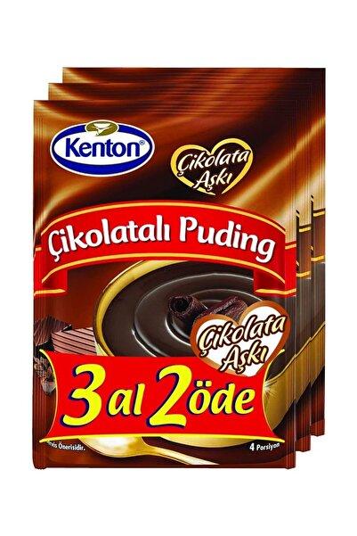 Kenton Puding Çikolatalı 3'lü