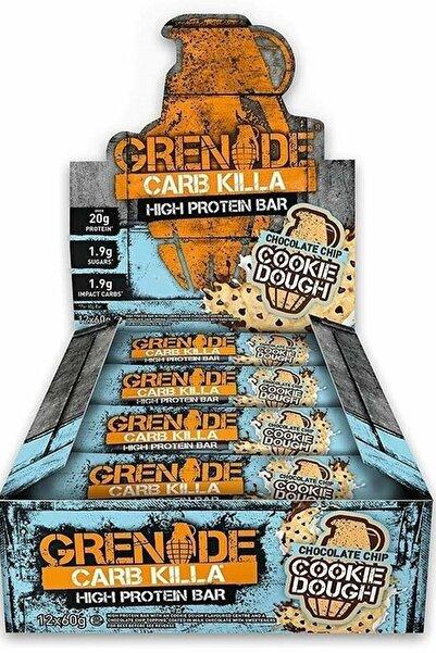 Grenade Carb Killa Protein Bar 60 Gr 12 Adet - Çikolata Parçacıklı Kurabiye