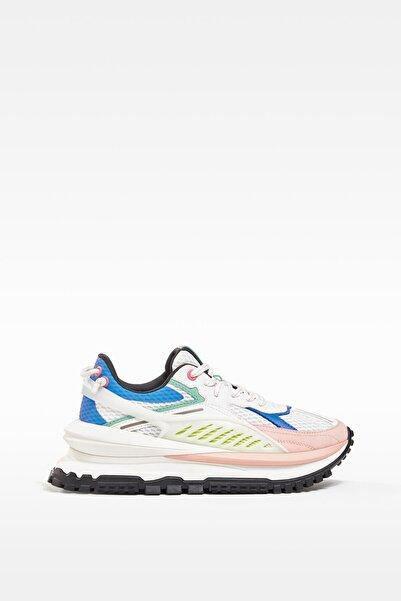 Bershka Kadın Çok Renkli Teknik Spor Ayakkabı - Limited Edition