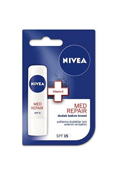 Nivea Med Repair Onarıcı Ve Besleyici Dudak Bakım Kremi 4,8 gr