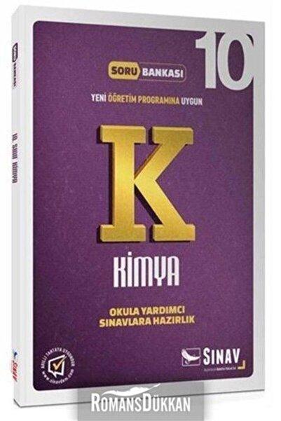Sınav Yayınları Sınav 10.sınıf Kimya Soru Bankası