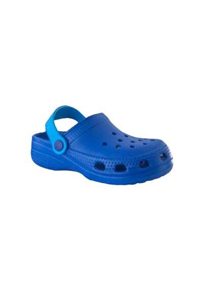 Akınal Bella E012 Saks Mavi Çocuk Havuz/deniz Terlik Sandalet