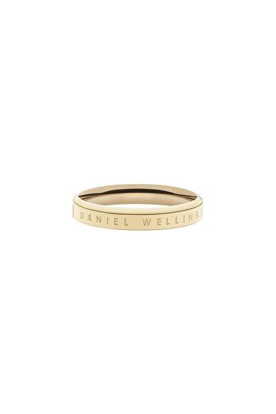 Daniel Wellington Classic Ring Yellow Gold  56 Çelik Yüzük