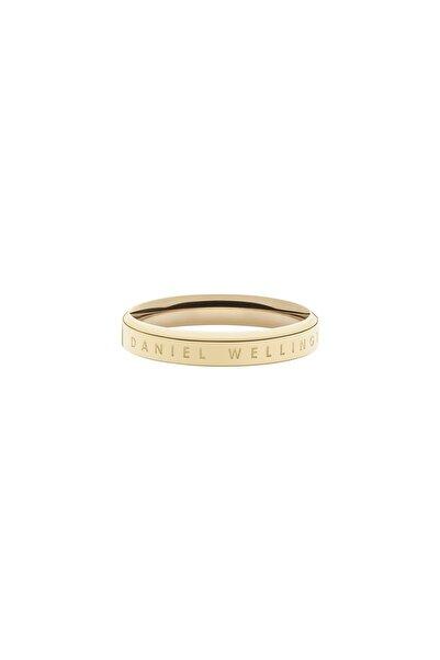 Daniel Wellington Classic Ring Yellow Gold  54 Çelik Yüzük