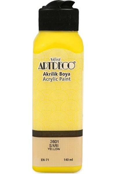 Artdeco Sarı Akrilik Boya 140 ml