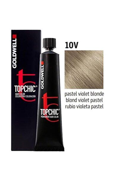 GOLDWELL Topchic Saç Boyası 10v Pastel Mor Sarı 60 Ml