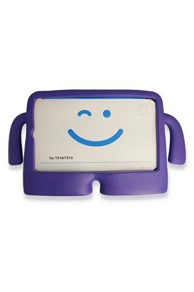 PHONACS Ipad Mini 1-2-3-4-5 7.9 '' Inç Uyumlu Mor Standlı Silikon Tablet Kılıfı