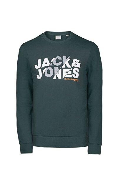 Jack & Jones Erkek Jcobla Sweat Crew Neck Sweatshirt