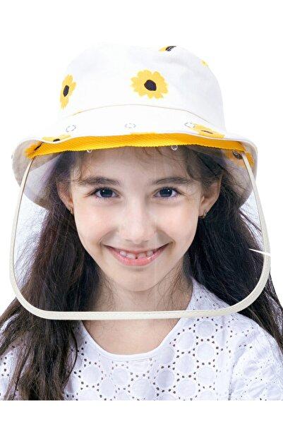 Halter Siperlikli Çocuk Şapka (Sarı)