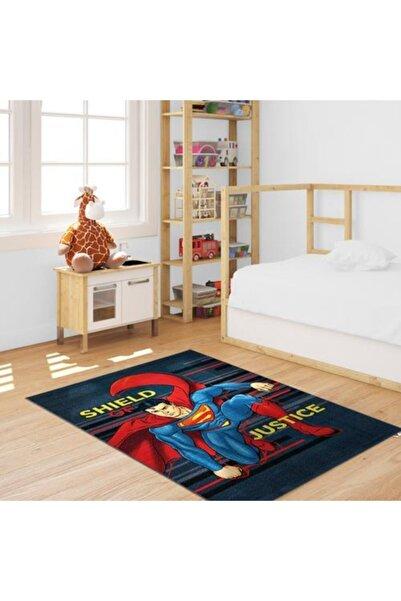 Dolce Vita Halı Bambino 125 Superman Antialerjik Kaymaz Taban Çocuk Halısı