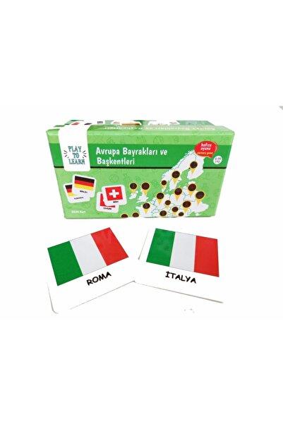 Play to Learn - Avrupa Bayrakları ve Başkentleri - Hafıza/memory Genel Kültür Oyunu
