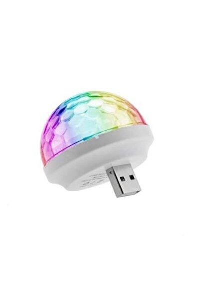 Taled Araç Içi Sese Duyarlı Mini Disko Topu Led Usb'li -telefon Uyumlu